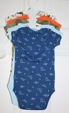 dac2a090ea (5) BOYS SZ 6 MONTH ASSORTED PACK OF BODYSUITS by CARTERS-NWT S  fashion   clothing  shoes  accessories  babytoddlerclothing  boysclothingnewborn5t  (ebay ...