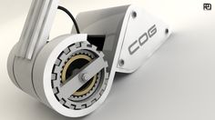COG work lamp by Otto Polefko, via Behance