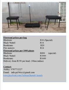 Delivery from per load radius) Bbq Stand, Gumtree South Africa, Buy And Sell Cars, Firewood, Westerns, Cape, Delivery, Stuff To Buy, Woodburning