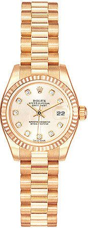love the color. rolex 18k rose gold.