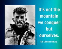 On this day 29th May, 1953 Sir Edmund Hilary and his Sherpa Tenzing Norgav, became the first men to reach the summit of Mount Everest in the Himalayas. The news of the British expedition broke in Britain on Queen Elizabeth II Coronation Day 2nd June. The Queen knighted Edmund Hilary later that year