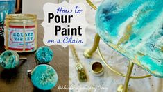 How to Paint Pour on