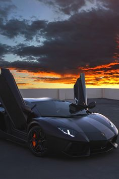 Aventador with Sunset By ActivFilms | More