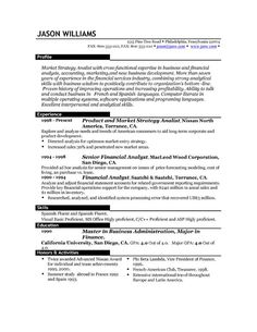 resume 85 free sample resumes by easyjob