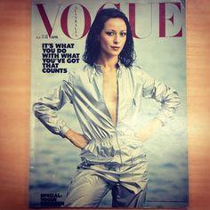 April 1977. Vogue Australia by Patrick Russell. www.vogue.com.au