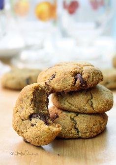 Grain-Free Pumpkin Chocolate Chip Cookies {Gluten-Free, Paleo-Friendly, Vegan} | cHowDivine.com