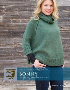 'Bonny' Raglan Poncho
