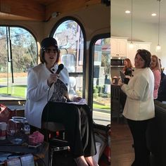 """Ivey Homes' Sales & Marketing Director @the_caroline_ashe played tour guide on the Builder Association of Metro Augusta's New Home"""" Tram  yesterday!  #newhome #builder #sales #agent #augusta #trolley #director #iveyhomes #nicehat Ivey Homes is a local Augusta GA home builder. Homes from the Low $100's to custom."""