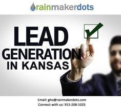 Rainmakerdots will shorten your sales cycles and increase your leads. Contact +1 (913) 208-1025