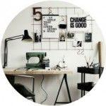 Moderne werkplek - bureau