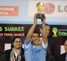 Coupe du monde 2014 : Luis Suárez récompensé