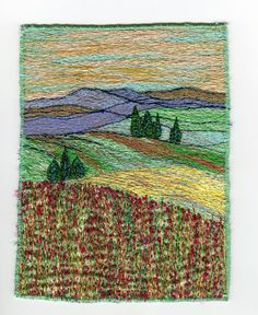 A Perfect Day Machine Embroidery Carol Naylor