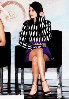 """Nina Dobrev at the Photo Call and Press Conference for """"xXx: The Return of Xander Cage"""" in Mexico City on January 5, 2017"""