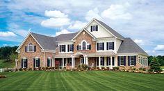 Toll Brothers Hampton Manor Home Design