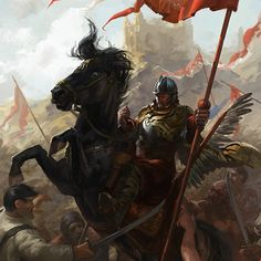 One of my personal pieces about Polish Winged Hussars. I started it on April 2011 and now I've repainted it to check If I can squeeze out more from this piece..