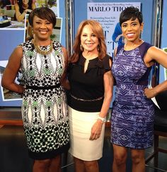 Great to have a visit from the one and only #MarloThomas on #newyorklivetv to talk about starting over & inspiring stories from her new book #ItAintOver