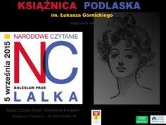 #KsiążnicaPodlaska #NarodoweCzytanie #Lalka #Białystok #Podlaskie