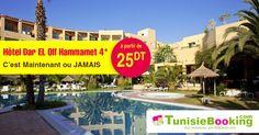 Réeservez vos chambres à l'hotel Dar el Olf à partir de 25DT seulement ===> http://tn.tunisiebooking.com/detail_hotel_78/