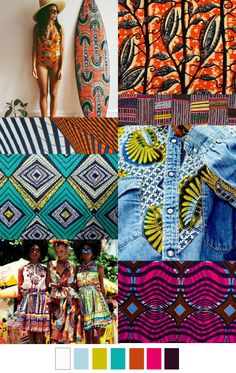 AFRO CENTRIC love the chitenge print