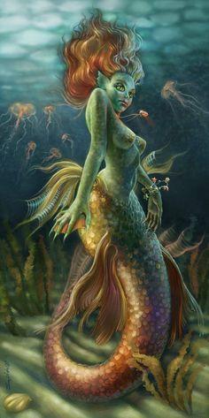 Mermaid's+jewelry+by+Sophia-M.deviantart.com+on+@DeviantArt