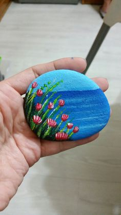 Beautiful & Unique Rock Painting Ideas , Let's Make Your Own Creativity Stone Art Painting, Seashell Painting, Pebble Painting, Pebble Art, Rock Painting Patterns, Rock Painting Ideas Easy, Rock Painting Designs, Painted Rocks Craft, Hand Painted Rocks