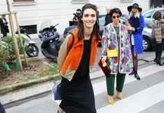 Milan Fashion Week 2014 Street Style 1 300x208 Milan Fashion Week 2014 Street Style