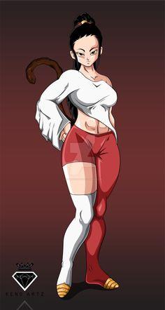 Commission Rava by KingKenoArtz on DeviantArt Desenho New School, Character Art, Character Design, Dragon Ball Gt, Comics Girls, Anime Comics, Cartoon Art, Anime Characters, Anime Art