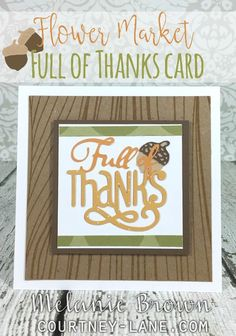 Hello, friends!   Today, I thought I would share all of the Cricut Flower Market projects I have made since it's release in August. Af...