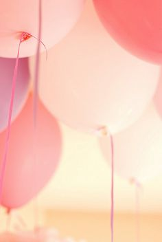 Globos color rosa  (ideas de cumple-birthday ideas)