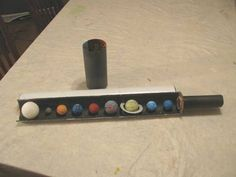 How to Create your own solar system diorama in the shape for a telescope « Papercraft :: WonderHowTo