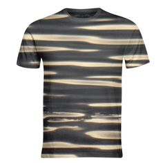 #ad  Black and golden stripes    #PAOM #fotosbykarin #onlineshopping Color Profile, Shoulder Sleeve, Neck T Shirt, Stripes, Printed, Sleeves, Shirts, Black, Fashion