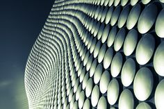 Modern Architecture of the Selfridges store at the Bull Ring in Birmingham
