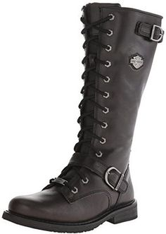 Harley-Davidson Women's Jill Motorcycle Boot $150 thestylecure.com
