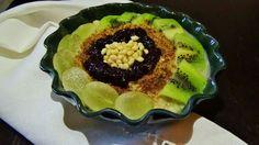 Porridge con frutta fresca #porridge #fruttafresca #vegan