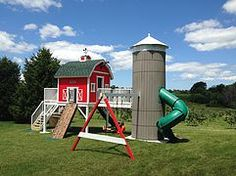 1000 images about barn open house on pinterest michigan for Barn and silo playhouse