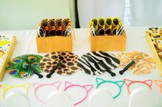 Nathan's Party Animals Themed Party – Loots Party Animals, Animal Party, Cute Animals, Party Themes, Birthday, Kids, Inspiration, Color, Pretty Animals