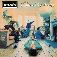 Michael Spencer Jones has revived his original cover art from the 1994 Oasis album 'Definitely Maybe' in this striking archival inkjet reproduction. An album that shaped a generation, the now iconic cover image has taken on a cult status: so familiar, Classic Album Covers, Cool Album Covers, Music Album Covers, Music Albums, Iconic Album Covers, Rock And Roll, Pop Rock, Beatles, Michael Stipe