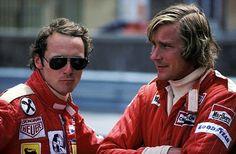 Lauda and Hunt, 1976 Monaco Grand Prix