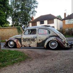 The old fashion (car) *. Custom Vw Bug, Custom Cars, Vw Rat Rod, Rat Rods, Kdf Wagen, Hot Vw, Bug Car, Vw Classic, Vw Vintage