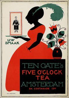 Ten Cate's Five o'clock tea. Kreijnen, Jan. 1920-25