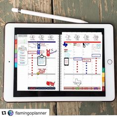 Digital version of an analog bullet journal. Brilliant! @showmeyourplanner