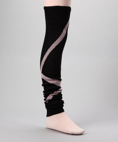 Handmade with quality knitting and a hip print, these leg warmers add exclusive style to any dance diva's ensemble. Complete with a soft, stretchy blend, this pair is the epitome of comfort. 26'' longAcrylic / LycraHand washMade in the USA