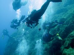 Visit Greece   Diving in Greece #sports #watersports #sea #diving #summer Windsurfing, Wakeboarding, Horseback Riding, Water Sports, Rafting, Snorkeling, Scuba Diving, Canoe, Outdoor Activities