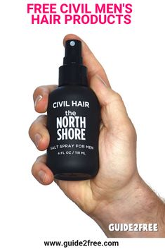 9bff485a274 Get FREE Civil Hair Men s Hair Products when you tell friends! They are  giving away
