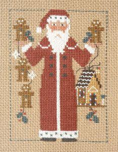 prairie schooler santa - stitched for me by Wendy Leitch 1999