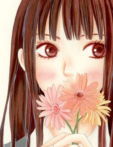 Kimi ni Todoke-- I love this manga! I really want my art to look as pretty as this someday. :)