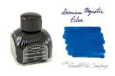 Fountain Pen Ink | Diamine Majestic Blue - 80ml | GouletPens.com $12.75