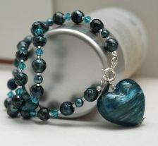 Deep Blue necklace Beaded Bracelets, Necklaces, Blue Necklace, Deep Blue, Jewelry, Jewlery, Jewerly, Pearl Bracelets, Schmuck