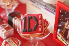 Fantastic One Direction cookies at a 1D Party