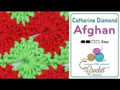 How to Crochet Catherine Diamond Stitch - YouTube
